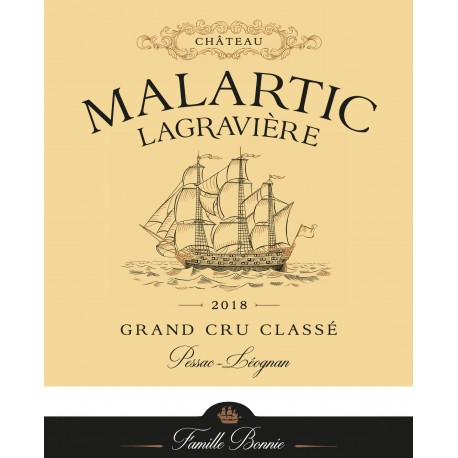 Château Malartic-Lagraviere Rge 2018