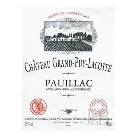 Ch. Grand Puy Lacoste 2010